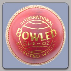 Cricket Ball Bowled