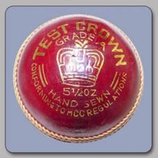 Test Crown Cricket Ball